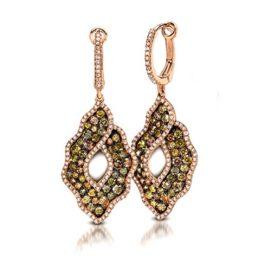 trendy hoops and dangler earrings