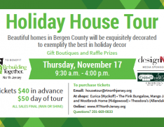 Holiday House Tour Flyer