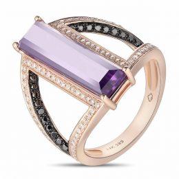 Luvente Amethyst Ring
