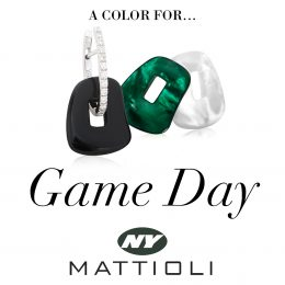 new york jets game day earrings